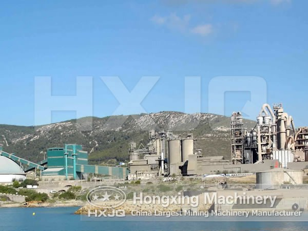 Open Circuit Cement Grinding Plant : Cement plant hongxing machinery