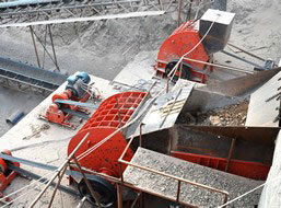 250t/h Granite Crushing Production Line in Zambia