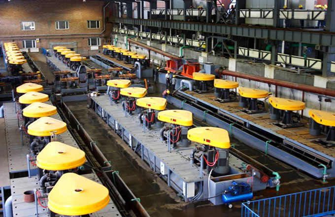 Flotation Machine for Processing Copper Ore in Panama