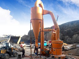 60t/h Iron Ore Micro Powder Mill in Egypt
