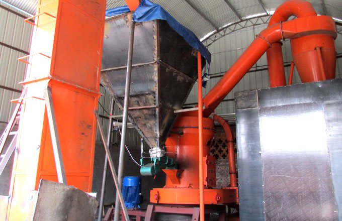 10-15t/h Rock Phosphate Grinding Plant in Turkey