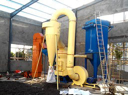 3t/h Powder Grinding Plant in Pakistan
