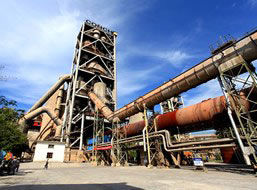 200t/d Rotary Kiln Used in Cement Production in Nigeria