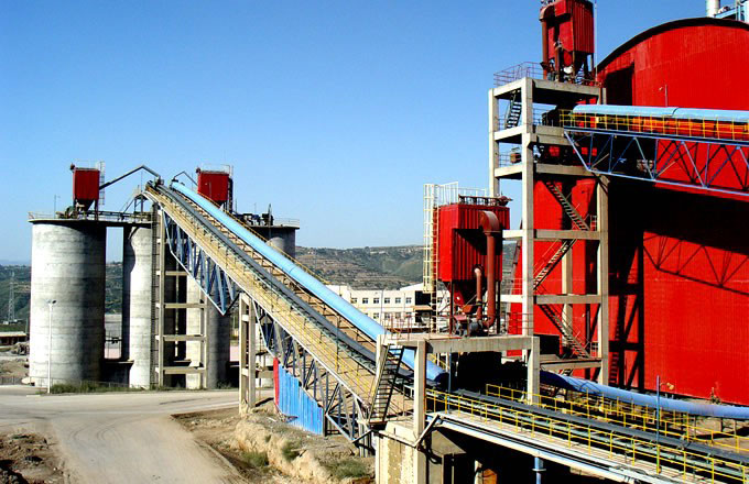 800T/H Cement Production Line in Pakistan