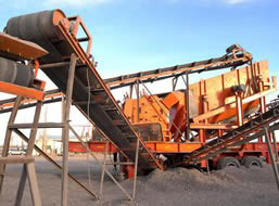 100-120T/H Gypsum Mobile Crushing Line in Nigeria