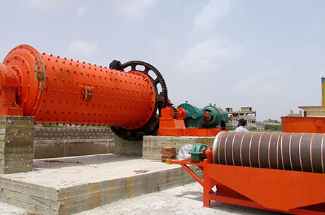 25T/H Magnetic Separator Used in Singapore
