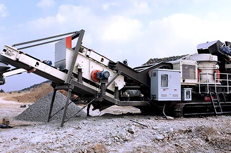 30-50T/H Limestone Mobile Crushing Plant in Mexico