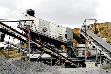 30 T/H Granite Mobile Crushing Line in Zimbabwe