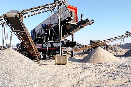 250T/H Iron Ore Mobile Crushing Line in Zambia
