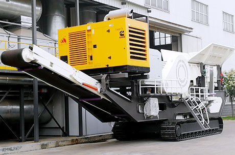 Wotetrack Jaw Crusher Station