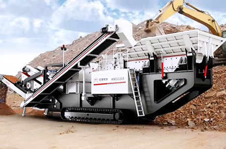 Wotetrack Impact Crusher Station