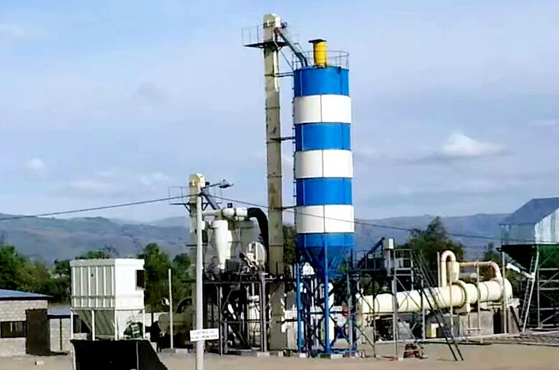 20T/H Sand Dryer in Zambia