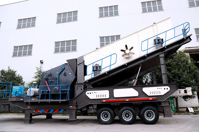 Tire Type Mobile Impact Crusher Station